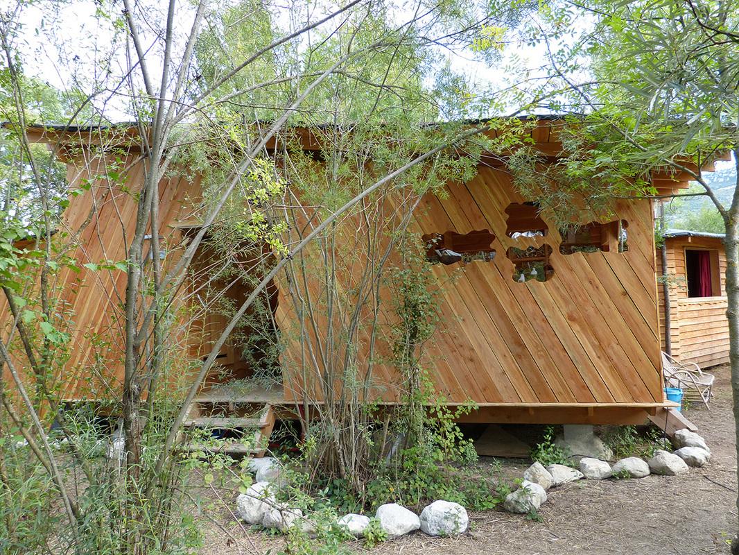 b timent d accueil sanitaire et dojo arbre habitat. Black Bedroom Furniture Sets. Home Design Ideas