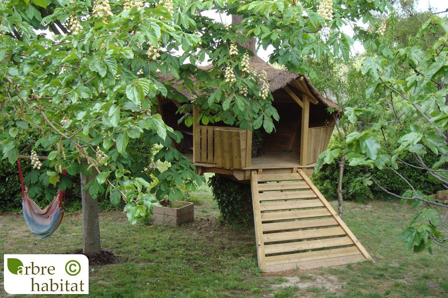 Cabane De Jeux Pour Enfants Arbre Habitat