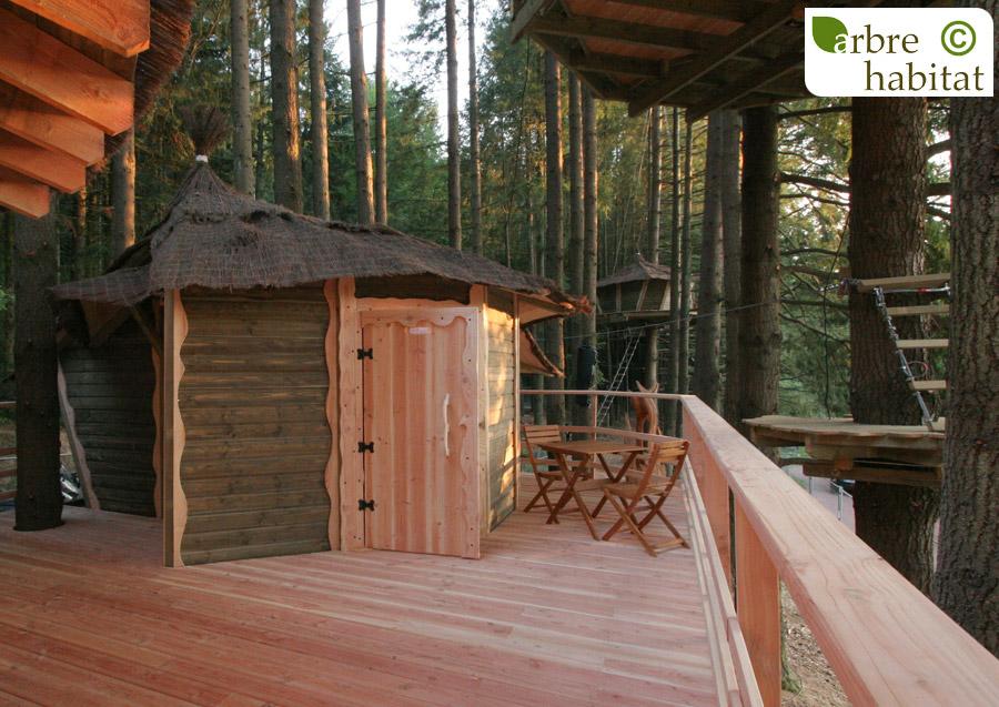 cabane tourterelle arbre habitat. Black Bedroom Furniture Sets. Home Design Ideas
