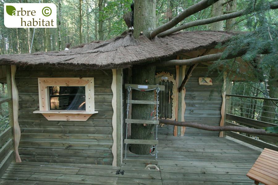 cabane pinson arbre habitat. Black Bedroom Furniture Sets. Home Design Ideas