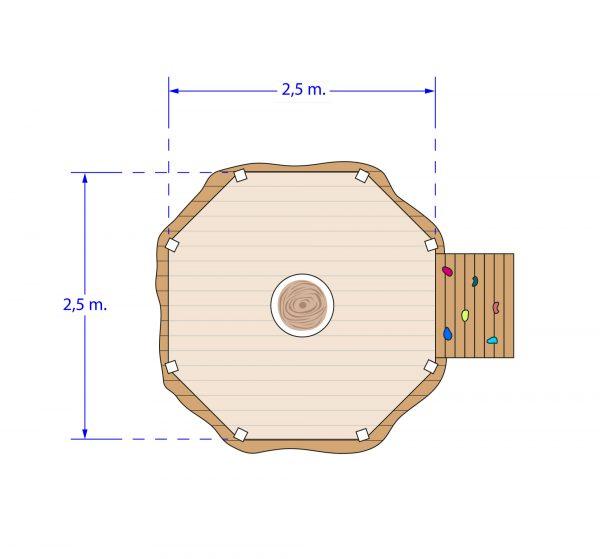 plan cabane détente